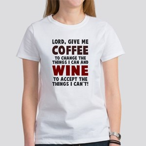 Coffee and Wine Women's T-Shirt